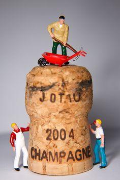 Champagne cork!