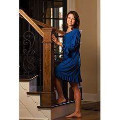 Slumbersome - Wicking Flounce Gown, $79.95 (http://www.slumbersome.com/wicking-flounce-gown/)