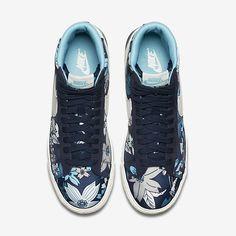 Nike Blazer Mid Textile Print Women's Shoe. Nike Store