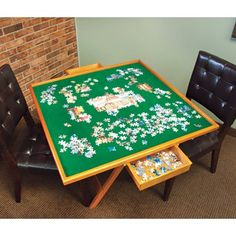 My favorite source for arts and crafts:  Puzzle Table