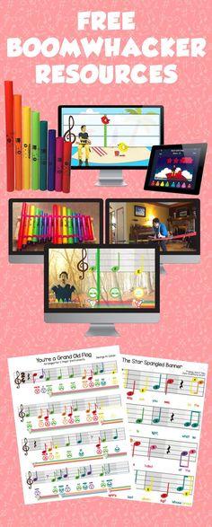 Free Boomwhacker Resources - Prodigies - Music Curriculum for Preschool & Primary School