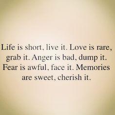"""Love is rare."" GRAB IT!"