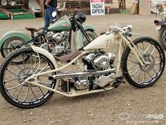 There were plenty of impressive custom motorcycles entered in the 2012 Rat's Hole Sturgis Bike Show.