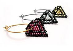 Diamonds Earrings By AmaltheaCph, Danish design Www.amaltheacph.etsy.com