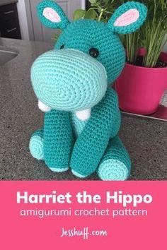 Free: Harriet the Hippo Amigurumi Pattern