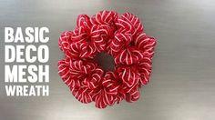 Deco Mesh Wreath 3 ways (videos)