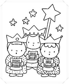 Three kings Coloring Pages Christian Christmas Crafts, Christmas Bible, Kids Christmas, Cat Coloring Page, Cartoon Coloring Pages, Colouring Pages, Holiday Celebrations Around The World, Celebration Around The World, Les Trois Rois Mages