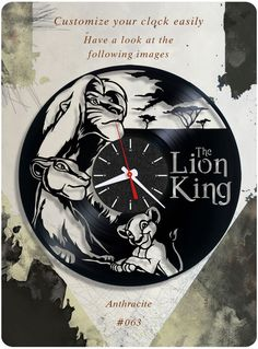 #birthday_gift #home_decorating_ideas #home_decor #holiday_gift #holiday_present #disney #lionking #lion_the_king #vinyl_clock #kids_present #disney_vinyl_clock #disney_record_clock #disney_vinyl_record_clock