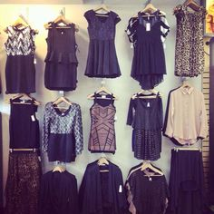 Got a New Years outfit? We have a wall of options for a dazzling start to the year.