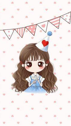 girl, icon, and kawaii image Cute Couple Cartoon, Chibi Couple, Cute Couple Art, Chica Anime Manga, Anime Chibi, Persona Anime, Cute Love Images, Cute Couple Wallpaper, Handy Iphone