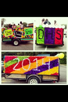 #parade #float #juniors #2014 #homecoming #highschool