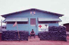 The Aid Station, 1st Battalion (Mechanized), 50th Infantry Battalion in Vietnam