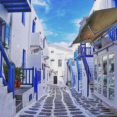 Mykonos, Greece Photo by @missjetsetter