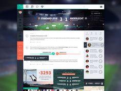 Football App - Live Game part 2 by Benoît Boucart