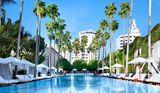Delano pool SoBe...our fav spot during our honeymoon