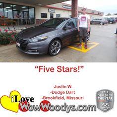 """""""Five Stars!""""  Justi"""