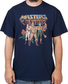 Masters Of The Universe Heroes Shirt