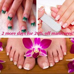 Don't forget to stop by Plymouth Meeting tomorrow or Wednesday to get 20% off a manicure! #PlymouthMeeting #manicure #nails #pedicure #last2days #conshy #mainline #gelmanicures #nailbar