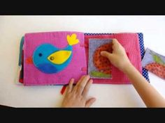 Quiet Book Tomás, by Salamaleque - YouTube