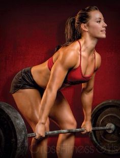 I love Camille LeBlanc-Bazinet! She is such an inspiration to me AND she's Canadian! Cheering her on and hoping to see her take the title of 'fittest woman on earth'