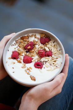 Watch this video to learn how to make your own yogurt. You could even make a batch tonight and have homemade yogurt for breakfast by tomorrow morning!