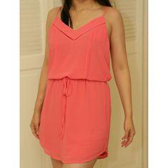 Sale! Bn Coral Tank Dress