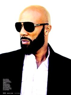 Common has the facial hair thing figured out. (via G the Gentleman)