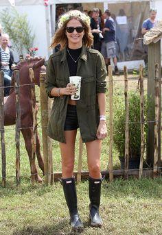 Glastonbury fashion 2013