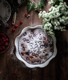 Raspberry Ricotta Almond Cake - The Kitchen McCabe