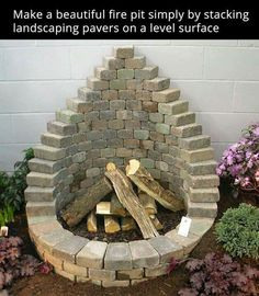Cool firepit More