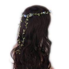 SODIAL(R) Guirlande Couronne Aureole Florale de Branche de Fleurs Roses pour Festival Mariage Outil de Photographie Taille Adulte: Amazon.fr: Beauté et Parfum