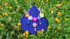 Creando con l'uncinetto...: Collana Serena con fiori (86)