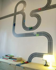 Decorating Kids Room With Wall Stickers Cool Boys Room Wall Cool Girls Room Wall Cool Nursery Wall StickersDecorating your boys Cool Boys Room, Boy Room, Room Kids, Kids Rooms, Murs Mobiles, Modern Kids Decor, Magnetic Paint, Magnetic Strips, Magnetic Tape