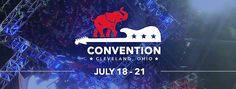GOP Convention! https://www.facebook.com/GOPconvention/ This is Mr. TRUMP'S CONVENTION people!!! If you support him then like the Facebook page and follow the convention on twatter- (yes I know I spelled it wrong! I HATE twatter owners) Anyway, show your support for your candidate please!
