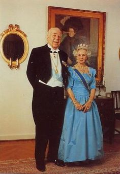 Having sacrified his own chance to marry and have children of his own, Lilian was the only wife to be given royal rank - something which rankled Bertil's brothers who had all married commoners, but was only right as they'd both given up a great deal for Sweden.