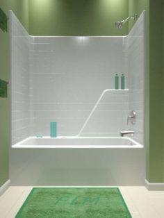 soaker tub shower combination Accord 7116 Bathtub Shower