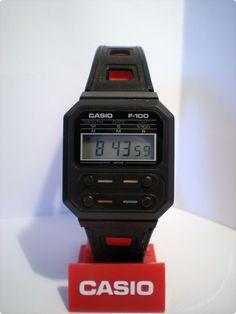 CASIO - F-100 - f-series - Vintage Digital Watch - Digital-Watch.com