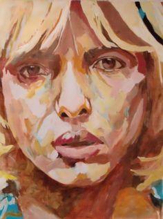 Dechant-art figurative Malerei ciao bella I - 200 x 150 cm