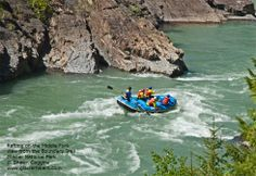 Must try this - Whitewater Rafting the Middle Fork of the Flathead River. For adventure junkies this is such a rush!