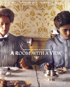 A Room with a View - James Ivory - 1985 - with Maggie Smith, Helena Bonham Carter, Julian Sands and Judi Dench Helena Bonham Carter, Helen Bonham, Judi Dench, Movies Quotes, Romantic Films, Romantic Period, Films Cinema, Bon Film, Livros