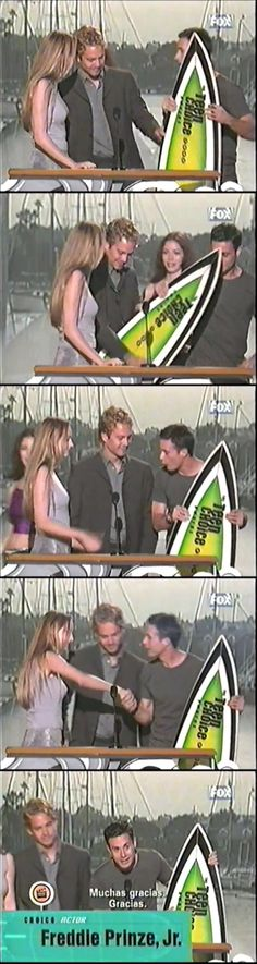 At the Teen Choice Awards in 2003.