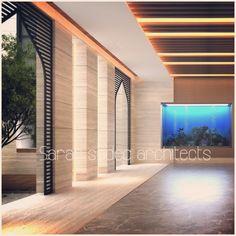 Interior , private villa , kuwait . Sarah sadeq architects