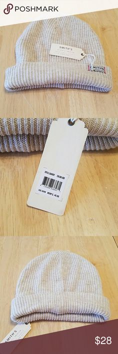 NWT! MEN'S SMITHS AMERICAN HAT. OSFM. BEIGE Men's Smiths American Hat Brand new With TAGS One SIZE FITS Most BEIGE Color STRETCH FIT Smiths American Accessories Hats