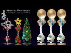 Balloon decoration light, christmas wedding, Ballon Licht Dekoration, Hochzeit Weihnachten - YouTube
