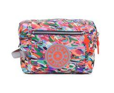 KIPLING Leslie Cosmetic Bag Make-Up Pouch Bag - Sunnyside - Free Ship - Nwt #Kipling
