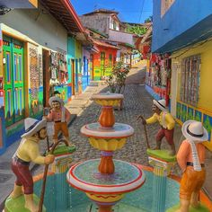 ▷ 20 Pueblos más bonitos de Colombia del 2020 - Travelgrafía Cali Colombia, Colombia Travel, Latin America, South America, Oh The Places You'll Go, Cool Places To Visit, Rio, World, Photography