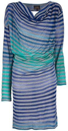 Vivienne Westwood Anglomania  Draped Dress