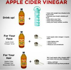 Some benefits of Apple cider vinegar