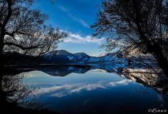 """""""Il riflesso freddo della natura"""", Lago Matese"""