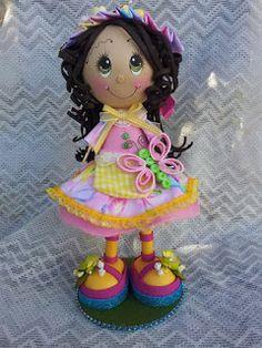 Scrapwluv Creations: My New Fofucha Doll